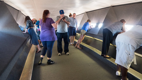 Inside the Gateway Arch #jcutrer