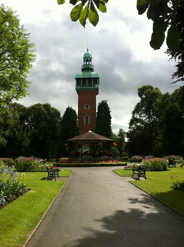 Carillon Tower and Bandstand - Queens Park - Loughborough