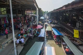 marche fottant damnoen saduak - thailande 48