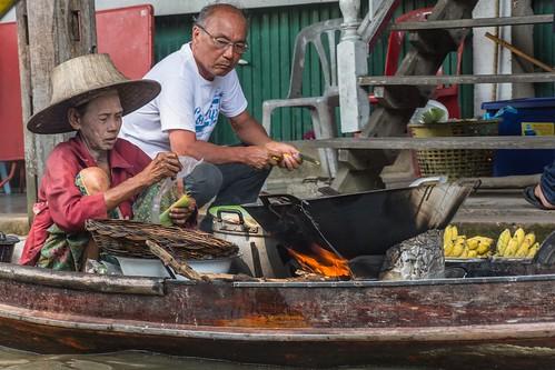 marche fottant damnoen saduak - thailande 39