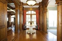 Alpine NJ mansion foyer (techpro12) Tags: old house room woodwork historic interior