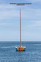 Simple sailboat (splendid_photography_UK) Tags: boat sailboat sailingboat nautical beaumaris floating bluesky simple pleasing