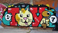 Toy / Afrikalaan - 16 jul 2017 (Ferdinand 'Ferre' Feys) Tags: gent ghent gand belgium belgique belgië streetart artdelarue graffitiart graffiti graff urbanart urbanarte arteurbano ferdinandfeys bestof2017be