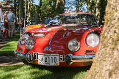 1972 Alpine-Renault A110 Berlinette (faasdant) Tags: 45th annual forest grove concours delegance 2017 pacific university campus classic car automobile show exhibition 1972 alpinerenault a110 berlinette red coupe rally