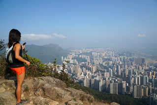獅子山上    Lion Rock Peak, Hong Kong