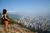 獅子山上    Lion Rock Peak, Hong Kong (Alice 2017) Tags: spring cloud misty smog sky hike hongkong 2017 ilce6000 sony a6000 sonya6000 sonysel1670zcarlzeissvariotessart sonyilce6000 asia city light nature park hill woman girl cityscape autofocus
