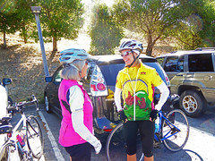 Lucy and Pat (mjstein) Tags: cyclists gpc grizzlypeakcyclists