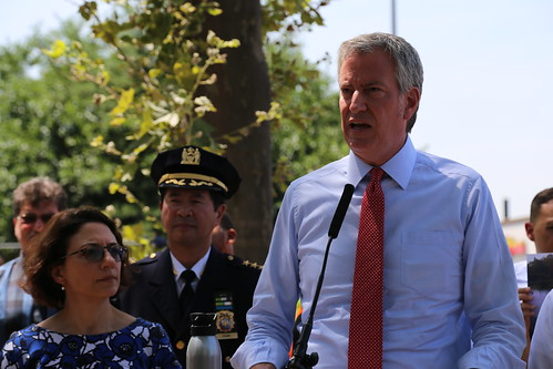 Mayor Bill de Blasio Urges Expansion of by NYCDOT, on Flickr