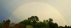 the calm between the storms (David Sebben) Tags: rainbow illinois weather storms quadcities nature