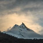 Manaslu Himal in the sunset thumbnail