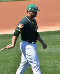 StephenVogt (jkstrapme 2) Tags: baseball jock cup crotch bulge catcher