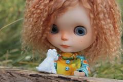 IMG_7314 (helenaaahaha) Tags: blythe blythedoll blytheinrussia bigeyes blythedollcustom customblythe custom customizedbyhelenaaa cutethings gingerhair fbl freckles weekend sweety summer