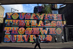 DSC_8045 Shoreditch London Holywell Lane Street Art You Saw It In The Tears Of Those Who Survived (photographer695) Tags: shoreditch london holywell lane street art you saw it in the tears of those who survived grenfell tower tribute ben eine artist benokri writer poet