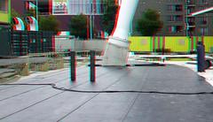 Toren op Zuid Rotterdam 3D (wim hoppenbrouwers) Tags: torenopzuid rotterdam 3d kpn anaglyph stereo redcyan