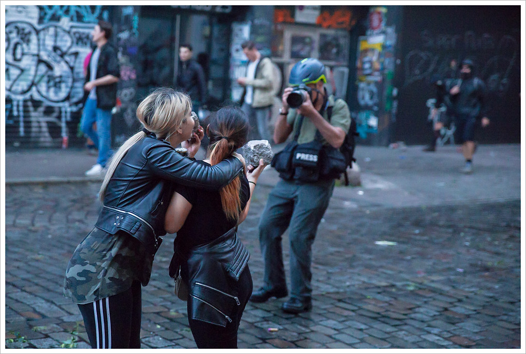 Riots against G20 @ Hamburg by Libertinus, on Flickr