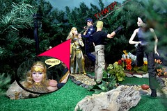 Paprihaven 1092 (MayorPaprika) Tags: mattel queenhippolyta horse wonderwoman 2017 spiderman park paprihaven turtlecrossing worldpeacekeepers madetomove barbie lea policeofficer captain actionplaying mantis canoneos50d 16 custom diorama toy story actionfigure movie