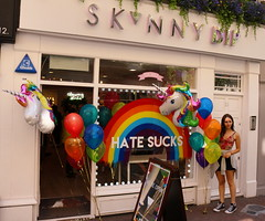London Pride (Roy Richard Llowarch) Tags: pride londonpride londonpride2017 londonpride17 london londonengland soho soholondon shop shops pub pubs gay gaypride gaylesbian lesbian men women girls guys lgbt lgbtpride gaylondon 2017 summer summertime londonstreets people places streets sunshine sunny bright color colour colourful colorful england uk party fun events happy happiness relaxed
