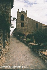 CNV00031s (Cameron A. Straughan) Tags: travel tourism eccentric quirky surreal odd architecture street history angles lines culture 35mm exposures film developing 400 iso real photography traditional photographs fuji stx2 camera processing tamron zoom lens 35 mm manual colour color photos classic old school ilford taormina hill mountains sicily mount etna active volcano teatro antico di ancient greco¬roman godfather francis ford coppola italy