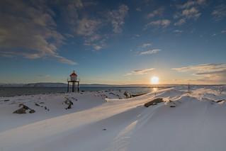 Sonnenuntergang Vardø