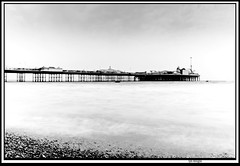 brighton_pier_longexp (The_Jon_M) Tags: england uk urban 2016 britian august nikon d5500 nikond5500 dlsr dslr brighton sussex eastsussex coast south southcoast pier longexp bw sea english channel englishchannel