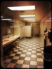 """""""Bourbon and Advocaat"""" (Captain Creepy) Tags: restroom tile floor bathroom theshining jacktorrance delbertgrady jeevsey"""
