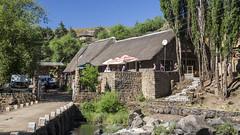 Semonkong Lodge (Hans van der Boom) Tags: holiday vacation southafrica lesotho zuidafrika semonkong maseru lodge restaurant tavern river bridge lso