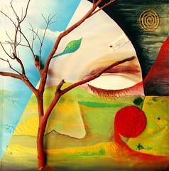 La vuelta del vértigo (Felipe Smides) Tags: pintura smides felipesmides arrayán vértigo agua fuego tierra viento bosque piel
