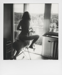 Sunrise of dreams (© Marcin Michalak (MarcinMichalak@outlook.com)) Tags: blackandwhite impossibleproject sx70 nude instantfilm akt blackwhite polaroidsx70 impossible instantfilmbw polaroid polaroidfilm theimpossibleproject analogfilm bw analog