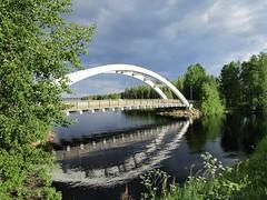 IMG_0136 (www.ilkkajukarainen.fi) Tags: lapland suomi finland suomi100 finlande lappi nature luonto travel traveling happy life museumstuff summer silta bridge lake järvi matkailu kotimaan