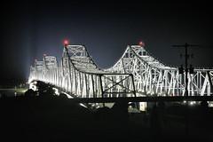 Bridge in the night (erichudson78) Tags: usa mississippi natchez bridge canoneos5d canonef24105mmf4lisusm nuit night pont beautiful wow