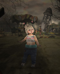 Alone in this World :x (Araxenia) Tags: alone child secondlife sl noparents like follow4follow forever