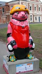 Bear-Trix Blocker (ahisgett) Tags: birmingham children's hospital charity wild art big sleuth 2017 bearmingham bear sculpture street