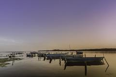 Le dortoir (Smart.In.Z) Tags: balaruc bateau boat ciel clouds coucherdesoleil crique etang nuages paysage sky sunset thau