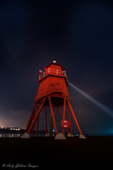 And still they come (Andy Gibbins Images) Tags: lighthouse southshields nightscape longexposure coast outdoor night nikon d5500 tokina stars