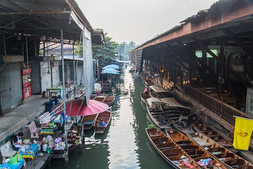 marche fottant damnoen saduak - thailande 1
