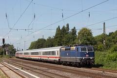 181 201 mit Pbz 2470 Frankfurt-Dortmund in Herne (fabian.kappel) Tags: db bundesbahn zug train ruhrgebiet pott eisenbahn ellok locomotive lok pbz herne bochum 2470 181 181201