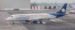 Aeromexico E190 (MEX) (ruimc77) Tags: nikon d700 nikkor 105mm f25 ais aeromexico connect embraer ejet e190 emb190 emb erj erj190 lr mmmx mex aicm mexico city international airport aeropuerto internacional ciudad méxico xaacj