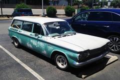 "Rare Corvair ""Lakewood"" Wagon (Ian E. Abbott) Tags: chevroletlakewood chevroletcorvair chevrolet lakewood corvair corvairstationwagon 1960scars"