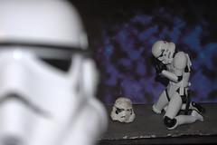 Troopers Grief (Orangecroc) Tags: starwars star wars lucasfilm toys pebble oof disney head helmet mask revoltech