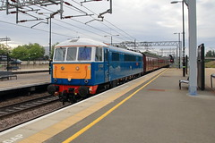 86259 E3137 'Les Ross' (aledy66) Tags: 1z86 0710 london euston carlisle 86259 e3137 les ross station cumbrian mountain express diesel freight train loco locomotive canon eos 70d railway railroad track sigma 1770mm milton keynes central mk