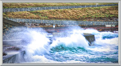 """Storm"" (johnscratchley) Tags: nature landscape winterscene sea storm"