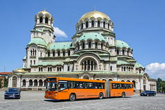 St. Alexander Nevsky Cathedral (Rivo 23) Tags: man sg 262 city bus urban transport sofia st alexander nevsky cathedral bulgaria