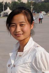 junge Chinesin (lsvexpeditionsreisen) Tags: china peking jungefrau hübsch portrait chinesin