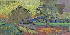 Paysage au crépuscule - Auvers-sur-oise - Van Gogh - 1890_0 (Luc II) Tags: vangogh auverssuroise