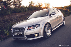 Audi A4 B8 Allroad (Concker) Tags: audi a4 b8 allroad silver norway quattro sunset stance stanced low lowered rotiform ccv canon 7d 1755mm