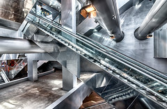 Garibaldi 6 (isnogud_CT) Tags: garibaldi statione bahnhof neapel italien ubahn underground treppe rolltreppe