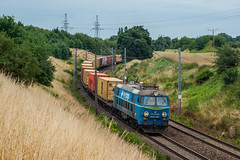 ET22-1054 (arkadiusz1984) Tags: et22 et221054 pkpcargo tczew freighttrain