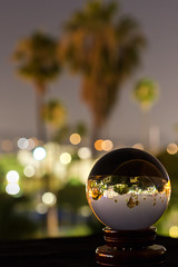 Bright lights, big city (Hanna Tor) Tags: color nature city bokeh town downtown hannator america losangeles trip travel song lyrics hollywood glass night ball