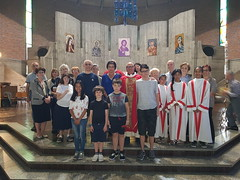 """04.06.2017 S.Messe di Pentecoste con Padre Jawad parroco a Tunisi - Dopo la Messa delle 10-30 in Oratorio rinfresco-incontro • <a style=""""font-size:0.8em;"""" href=""""http://www.flickr.com/photos/82334474@N06/35944713355/"""" target=""""_blank"""">View on Flickr</a>"""