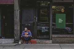 New Italian Hero (Matt Henry photos) Tags: toronto superman street photography hero